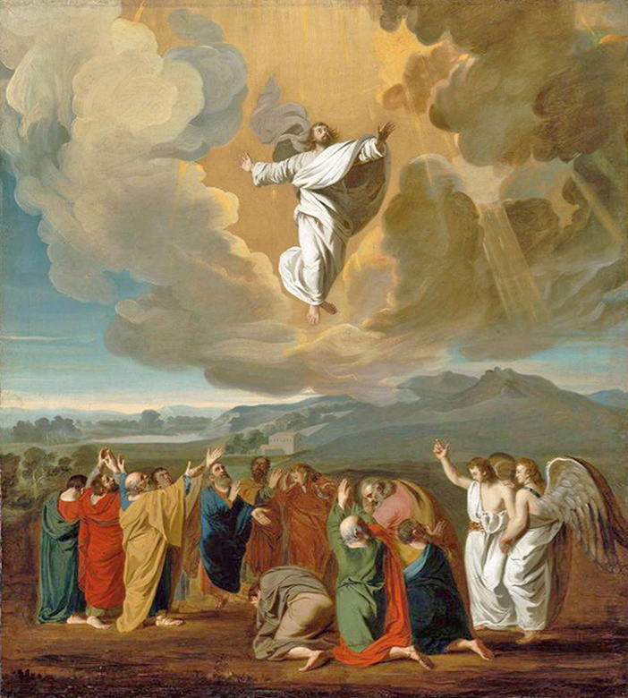 John Singleton Copley of Boston - The Ascension of Jesus, Museum of Fine Arts, Boston, 1775.