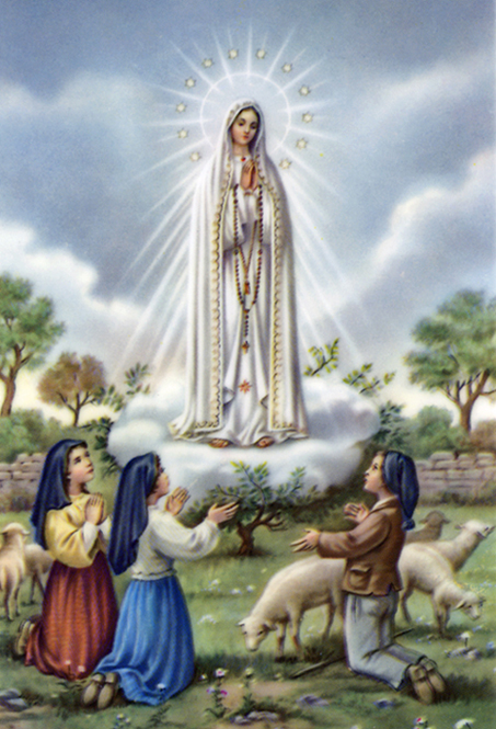 Our Lady of Fatima Icon http://www.maryourmother.net/Fatima.html
