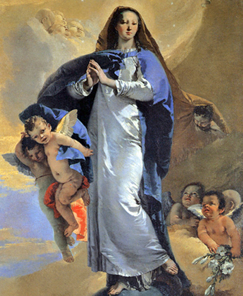 Giambattista Tiepolo - Immaculate Conception, Prado, Madrid, 1750.