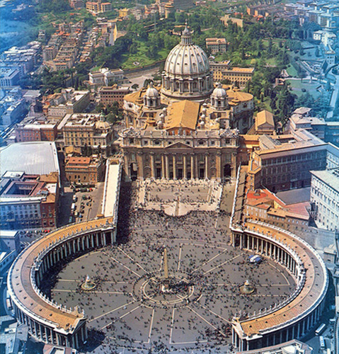 Basilica of St. Peter, Vatican City.